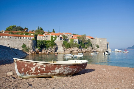 Sveti Stefan island-resort, Montenegro Stock Photo - 9001657