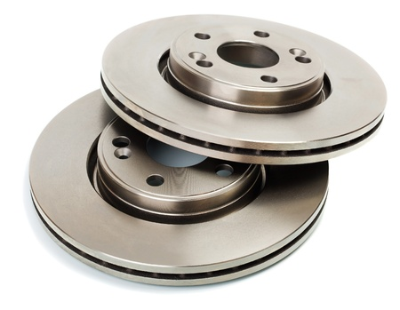 Two brake disk for the car Stock Photo - 9251885