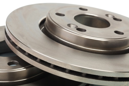 Two brake disk for the car photo