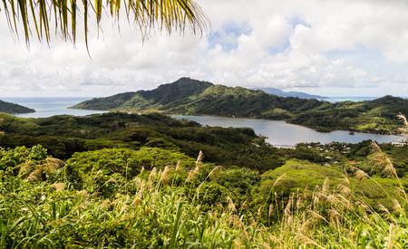polynesia: French Polynesia scenic landscape