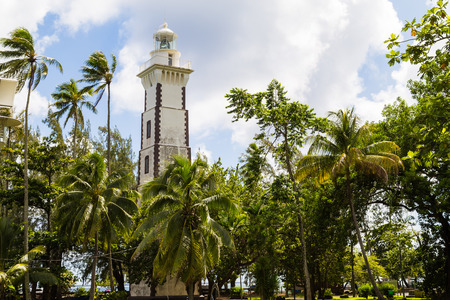 타히티에있는 비너스 포인트 등대
