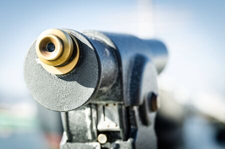 spyglass: Outdoor spyglass for viewing landmarks and ships