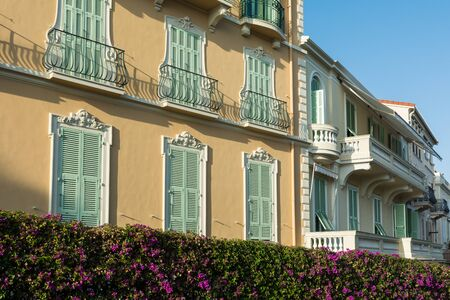 mediteranean: Houses of traditional Mediteranean architecture in French Riviera
