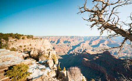 Grand Canyon view from South Rim Stock Photo