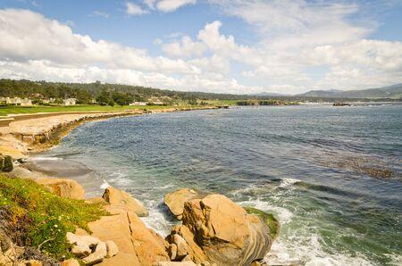 Scenic Views of California Pacific ocean coastline