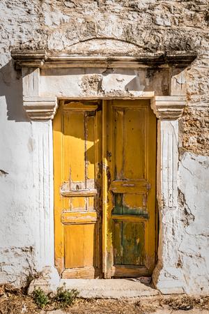 Old doors of teh ancient building