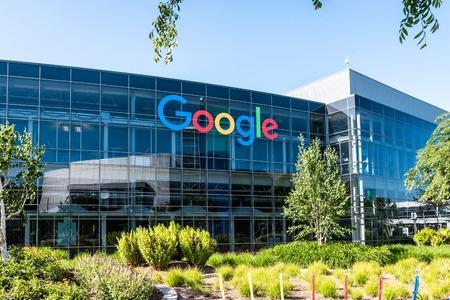 Googleplex - 캘리포니아에있는 Google 본사 에디토리얼