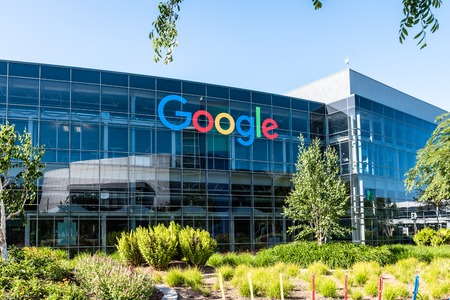 Googleplex - Google Headquarters in California Editorial