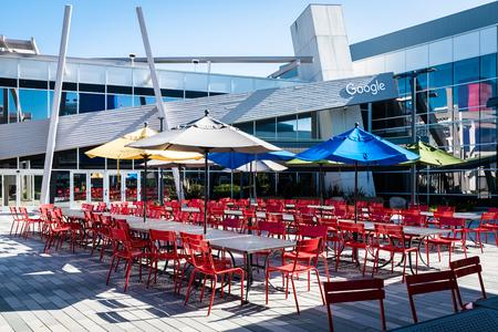 Googleplex의 레스토랑 - Google 본사