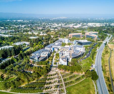 campus tour: Googleplex - Google Headquarters in California Editorial