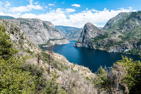 Hetch Hetchy in Yosemite National Park Banco de Imagens