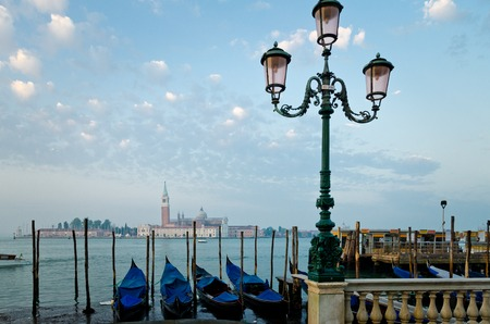 View from boardwalk in Venice Italy Фото со стока