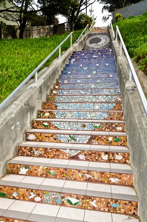 Moraga Steps in San Francisco
