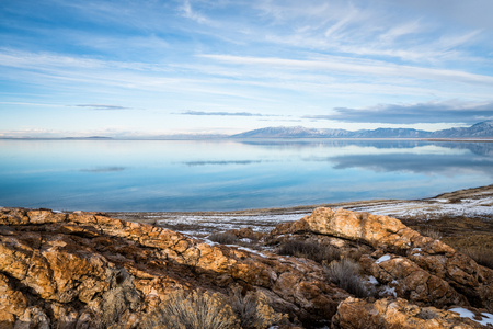 View in Antelope Island State Park