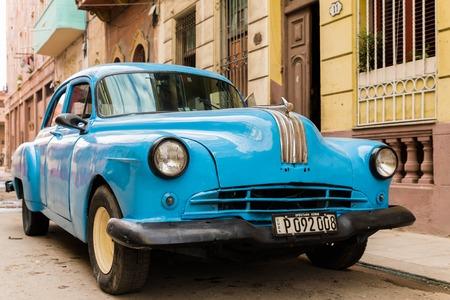 Classic car on streets of Havana