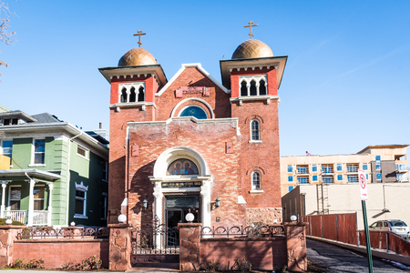 Saints Peter and Paul orthodox church in Salt Lake City