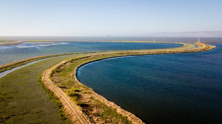 San Francisco bay from the air