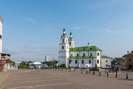 Holy Spirit Cathedral in Minsk Belarus Editorial