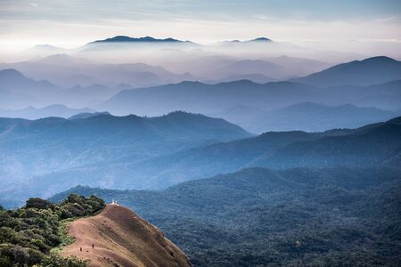 doi: Landscape of mountains, Doi Monjong, Chiang Mai, Thailand Stock Photo