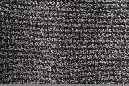 Close-up nano textile texture of gray towel 免版税图像
