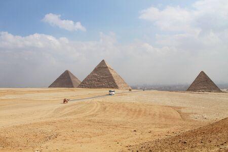 pharoah: Great Pyramids at Giza