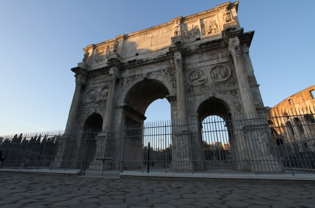 constantine: The Arch of Constantine, Italy