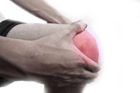 unhealth: Knee ache Stock Photo