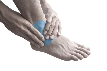 unhealth: Ankle pain.