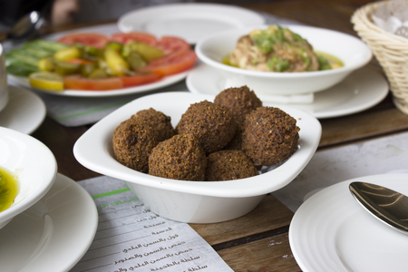 This image for Arabic food called FALAFEL Editorial