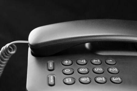 touchtone: Phone keypad closeup