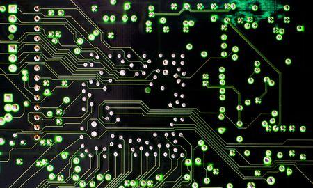 circuitboard: Circuit Board Connessioni Archivio Fotografico