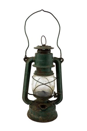 miners: Old lamp Stock Photo