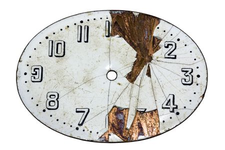 Damaged watch face photo