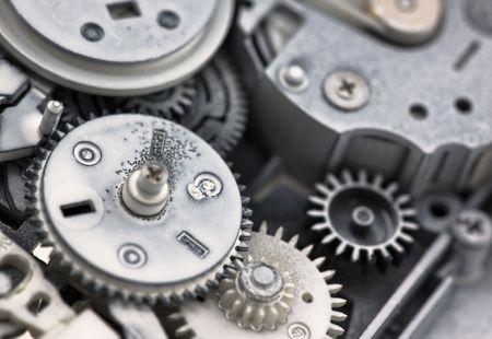 Plastic gears photo