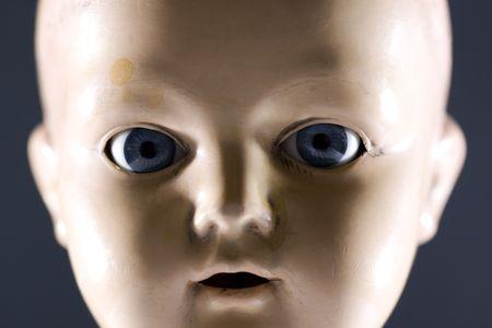Doll face Stock Photo