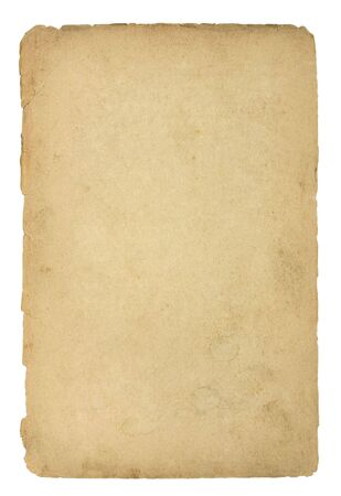 Old and dirty sheet of paper Stock Photo - 4991318