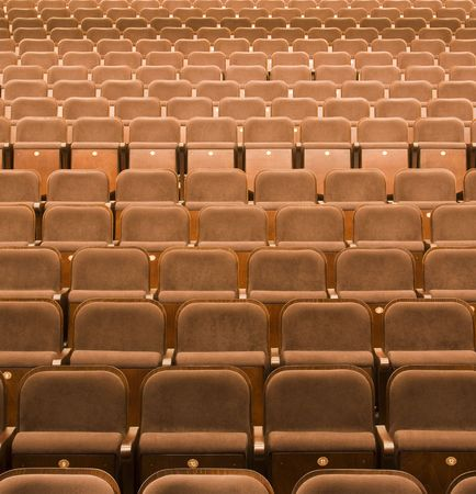 auditors: Seats in a theater