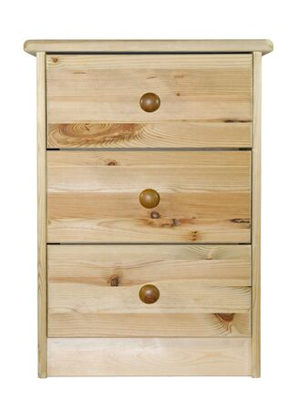 Pine chest of drawers Stock Photo - 4991333