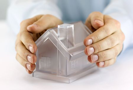 Protect Your House Stock Photo - 4991261