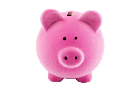 Pink piggy bank Stock Photo - 5535129