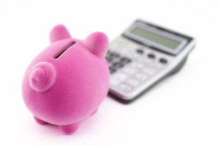 Calculating savings photo