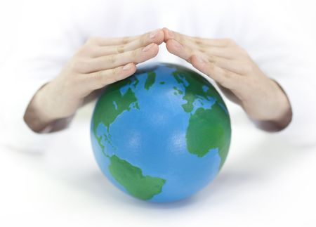 Protect the Earth Stock Photo - 6755340