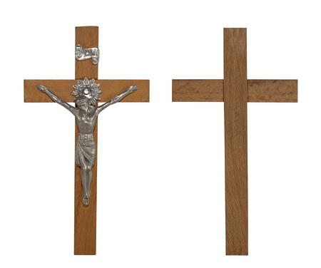 wooden cross: Crucifix