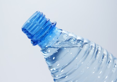 Bottle of water photo