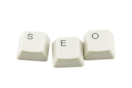 titled: Seo - search engine optimization Stock Photo