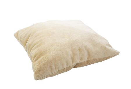 Pillow isolated on white Stock Photo