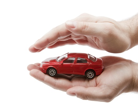 insure: Car protection.