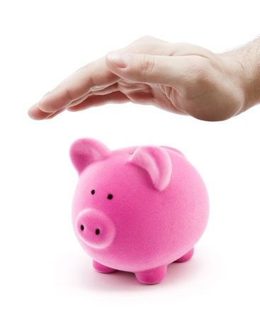 Protect your money Stock Photo - 8384066