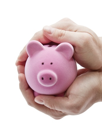 Protect your money  Stock Photo - 8384042