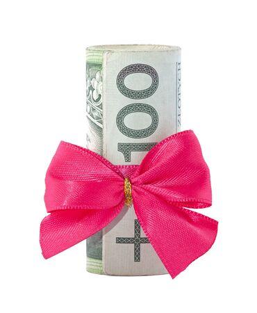Polish money gift  photo